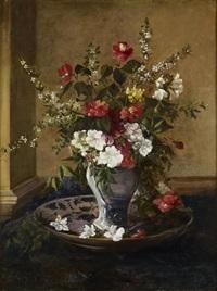 vase de fleurs by jules félix ragot