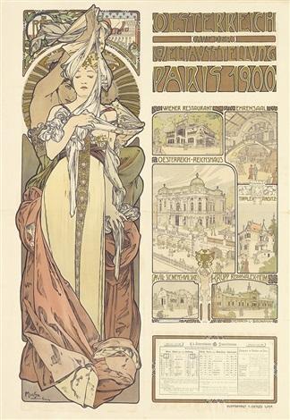 oesterreich auf der weltausstellungparis 1899 by alphonse mucha