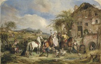 before the hunt by henry andrews