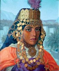 femme berbère by p. l. ganne