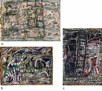 untitled (set of 3 works) by jayashree chakravarty