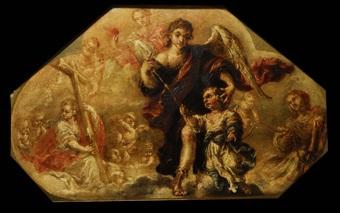 el ángel de la guarda by juan de valdés leal
