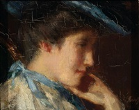 portrait of suze garf by solomon garf