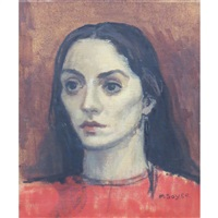 the greek girl by moses soyer