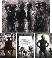 the odd one (+ 3 others; 4 works) by anupam sud