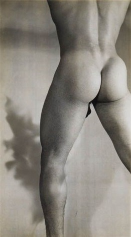 male nude by minor white