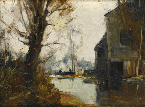 the mill steam storrs connecticut by anthony thieme
