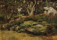rochers en forêt de fontainebleau by maurice dainville