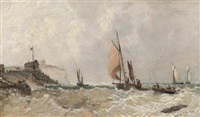 Returning from the fishing grounds, 1860