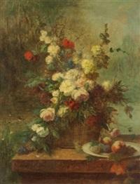 bouquet de fleurs by jean alexandre rémy couder