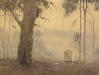 morning mist by george courtney benson
