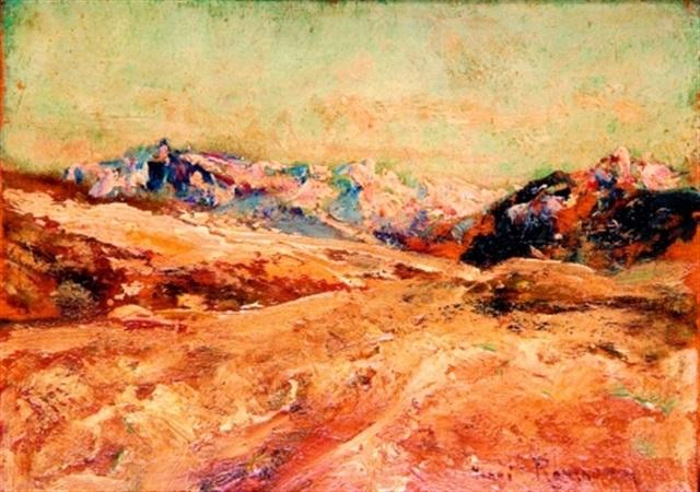 les alpes en hiver by henri rousseau