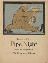 pipe night by maxfield parrish