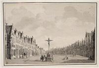 vue de la rue du meir au centre d'anvers by theodor (dirk) verryck