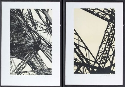 tour eiffel pair by karl lagerfeld