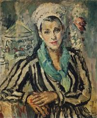 woman at the fair by cathleen s. mann