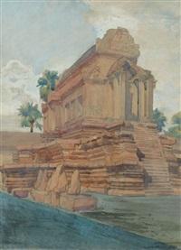 temple à angkor by francois marie léon de marliave
