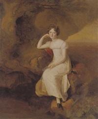 portrait of elizabeth broadhead by firmin massot