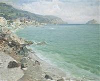 spiaggia di spotorno by ottorino campagnari