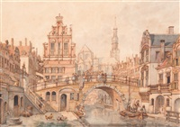 capriccio of utrecht by jan hendrik verheyen