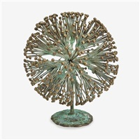 bush (gold knobs) by harry bertoia