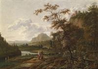weite landschaft mit rastenden hirten by jan gabrielsz sonje