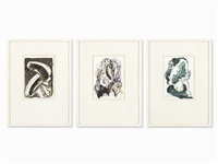 3 etchings by wolf vostell
