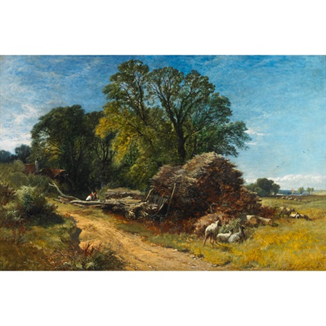 a sketch from nature painted on the spot by henry john boddington