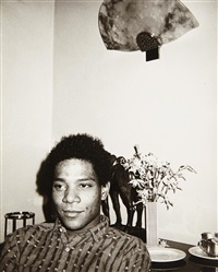jean-michel basquiat by andy warhol