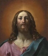 bust of christ (salvator mundi) by guido reni
