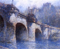 pont neuf, paris by george wharton edwards