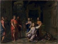 antoine et cléopâtre by jean-baptiste corneille