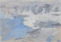 etude: ciel by eugène boudin