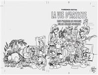 la vie d'artiste by florence cestac