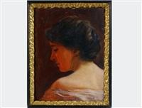 portrait miss kuppelwieser by maximilian lenz