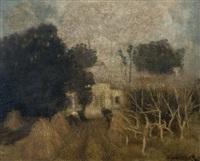 rancho entre los arboles by eduardo amezaga