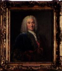portrait de françois comte d'anneville, lieutenant général des armées du roi by louis tocqué