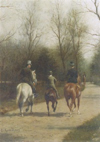 an afternoon ride by edmond georges grandjean