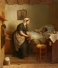 the sick child by fridolin becker
