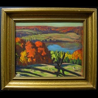 autumn - haliburton by joseph ernest sampson