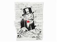 monopoly man as a dj by alec monopoly