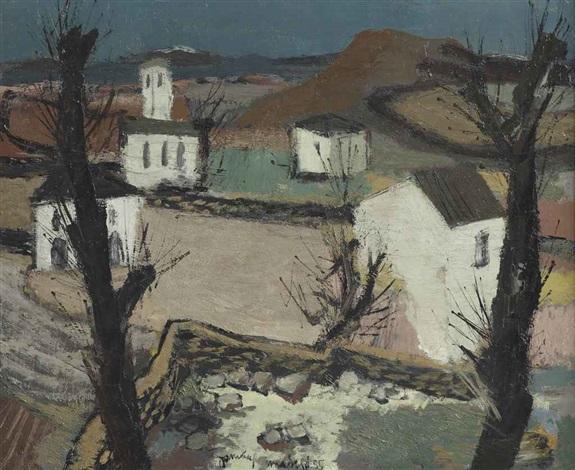 a spanish landscape near madrid by jan van heel