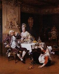 the lost supper by adrien de boucherville