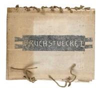 bruchstücke i (portfolio of 12) by andreas hanske and volker baumgart
