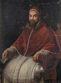 ritratto di papa urbano viii by ottavio maria leoni