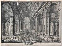 alla santita del sommo pontefice papa pio vi ... and all alterzza reale eminentissima di errigo ... (2 works) by giuseppe vasi