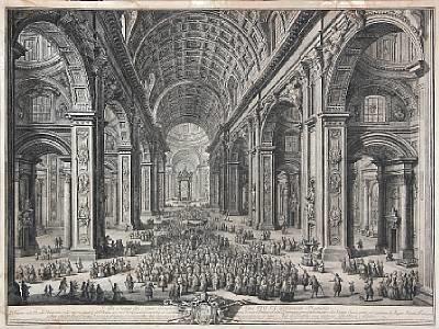 alla santita del sommo pontefice papa pio vi and all alterzza reale eminentissima di errigo 2 works by giuseppe vasi