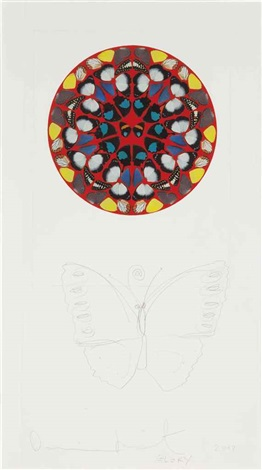 glory by damien hirst