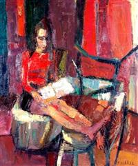 una persona lee by eduardo faradje