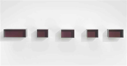untitled in 5 parts by donald judd